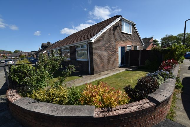 Thumbnail Semi-detached bungalow to rent in Newquay Avenue, Ainsworth, Bolton