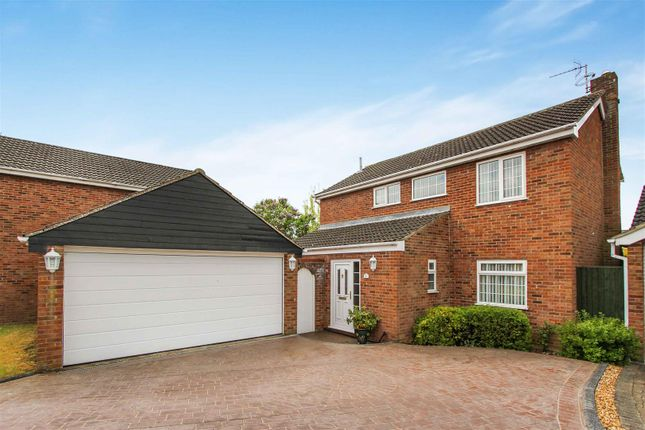 Thumbnail Detached house for sale in Mint Lane, Great Paxton, St. Neots