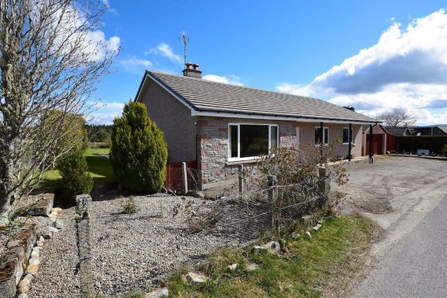 Thumbnail Detached bungalow for sale in Grantown-On-Spey