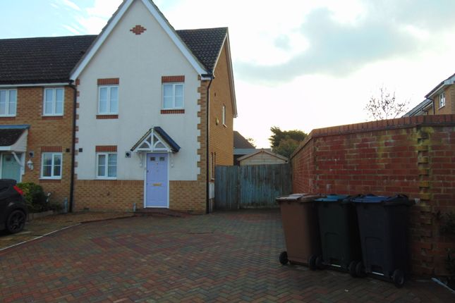Thumbnail Semi-detached house to rent in Hill Rise, Ashford