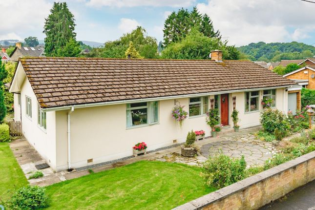 Thumbnail Detached bungalow for sale in Broadway, Builth Wells