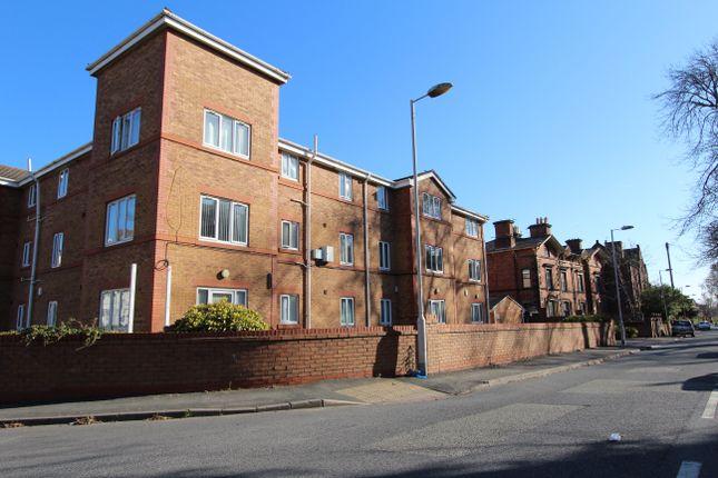 Thumbnail Flat to rent in Devonshire Road, Prenton