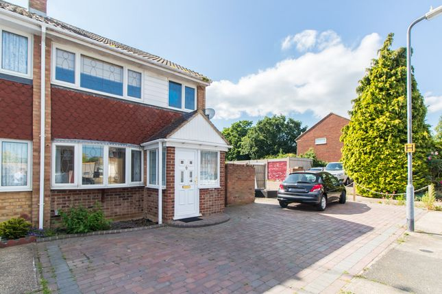 Thumbnail End terrace house for sale in The Rundels, Thundersley