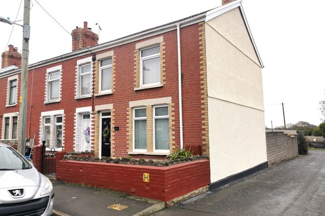 Thumbnail End terrace house for sale in Park Street, Kenfig Hill