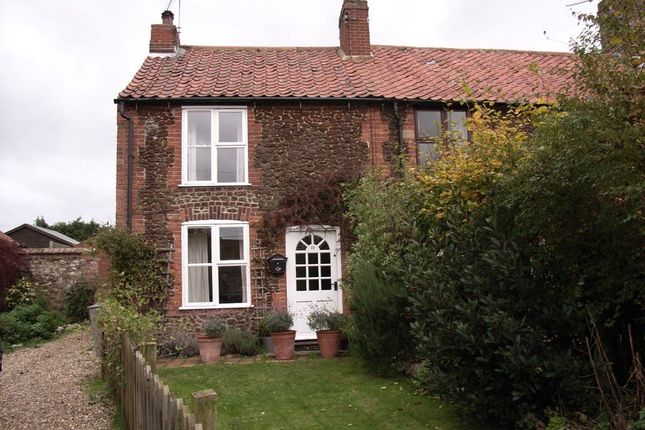 Thumbnail Cottage to rent in Carr Terrace, Docking, King's Lynn