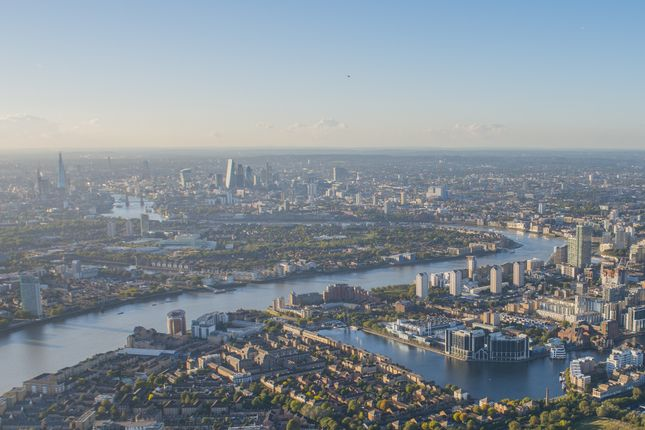 Aerial View of Rotherhithe Street, London SE16