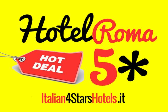 Thumbnail Hotel/guest house for sale in Downtown, Rome City, Rome, Lazio, Italy
