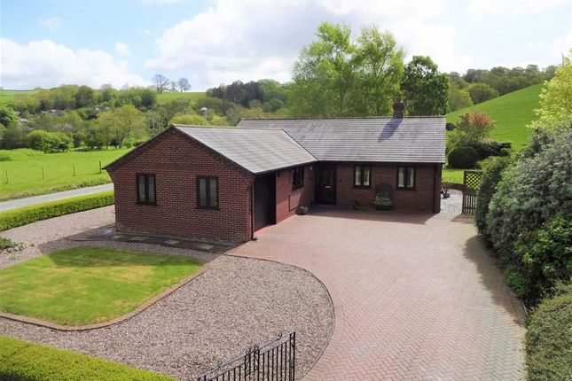 Thumbnail Bungalow for sale in 1, Court Close, Abermule, Montgomery, Powys