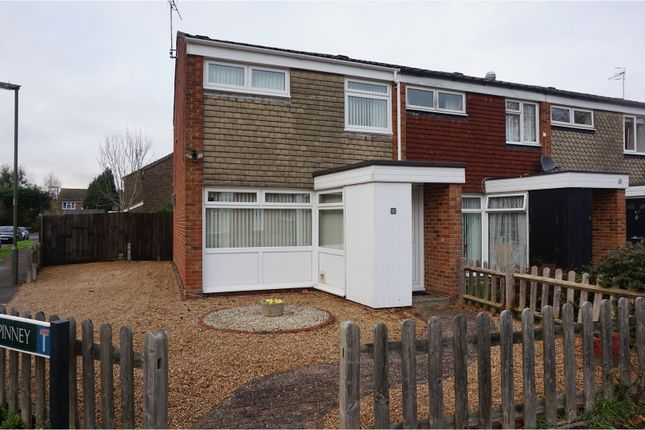 Thumbnail End terrace house for sale in The Spinney, Horley