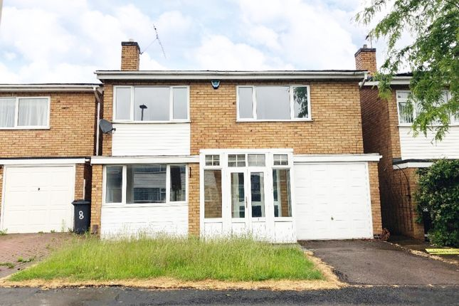 Thumbnail Detached house to rent in Badgers Close, Beaumont Leys