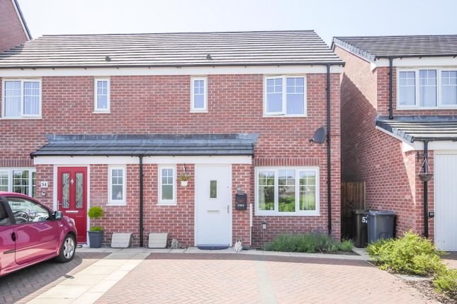 Thumbnail 3 bed terraced house for sale in Links Crescent, Seascale