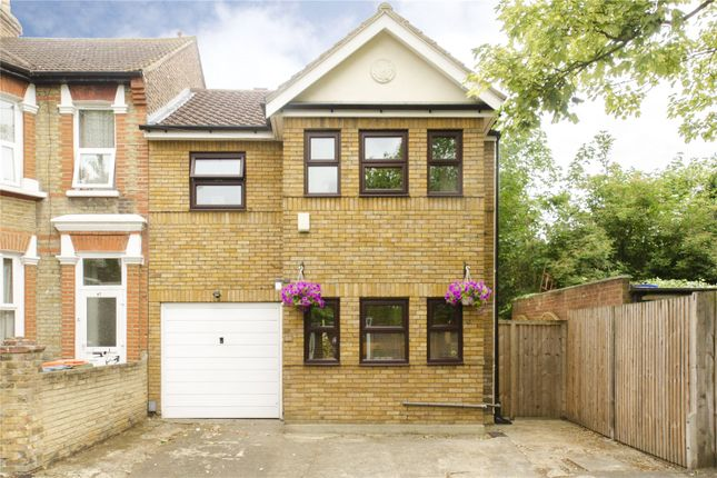 Thumbnail End terrace house to rent in Latimer Road, Forest Gate, London