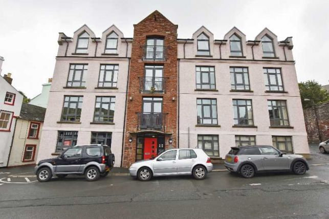 Thumbnail Flat for sale in The Wharfside Apartments, Peel