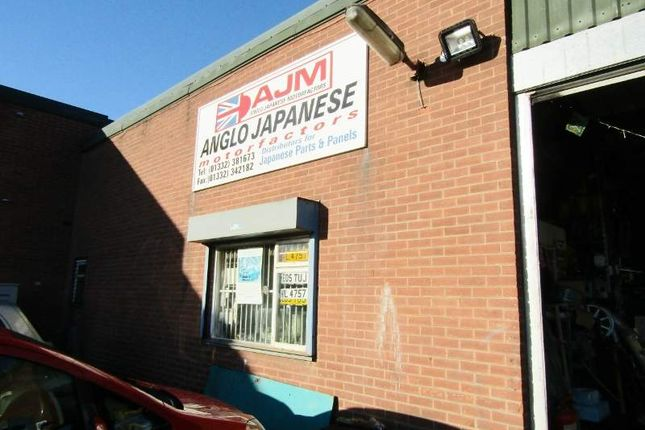 Retail premises for sale in Robinsons Industrial Estate, Shaftesbury Street, Derby