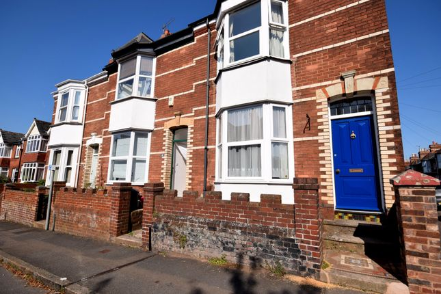 Thumbnail Terraced house to rent in Elmside, Exeter