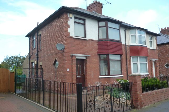 Thumbnail Semi-detached house to rent in Wigton Road, Carlisle