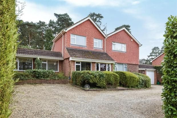 Thumbnail Detached house for sale in Middle Close, Camberley