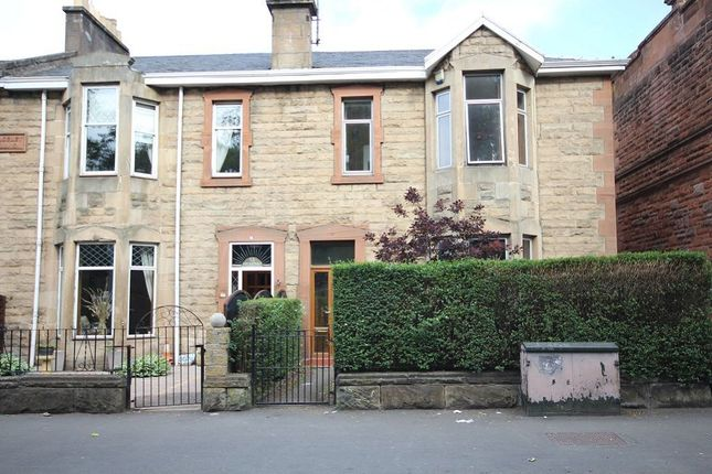Thumbnail Terraced house to rent in Westland Drive, Jordanhill, Glasgow