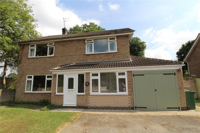 Thumbnail Detached house to rent in Ash Close, Colsterworth, Grantham