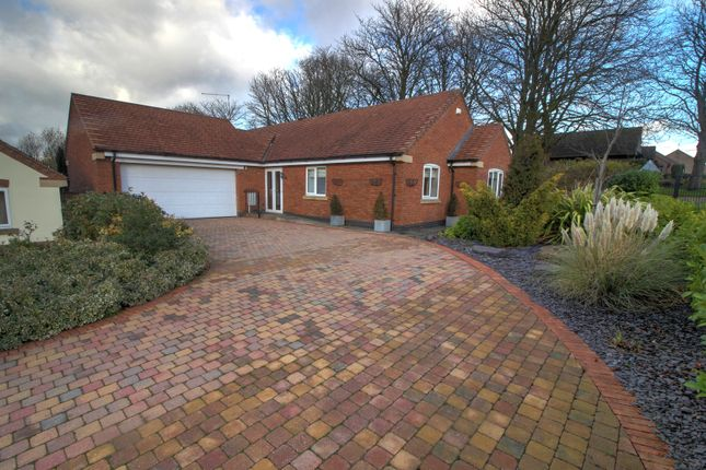 Thumbnail Bungalow for sale in Forest View, Botcheston, Leicester