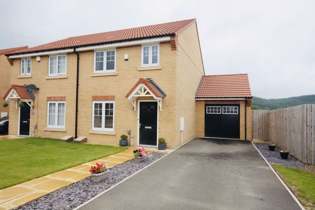 Thumbnail Semi-detached house for sale in Linnet Close, Guisborough