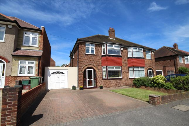 Thumbnail Semi-detached house for sale in Marina Drive, Welling, Kent