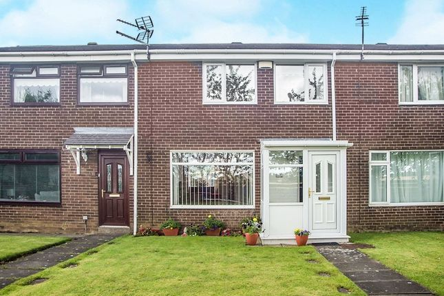 Thumbnail Terraced house for sale in Brookside, Dudley, Cramlington