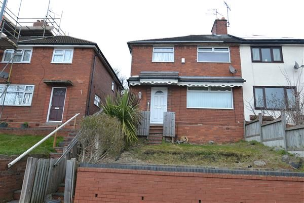 Thumbnail End terrace house to rent in Beverley Road, West Bromwich, Birmingham