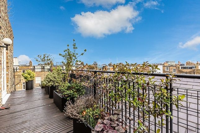 Roof Terrace of Chalcot Square, London NW1