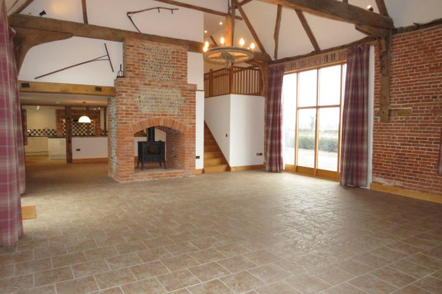 Thumbnail Barn conversion to rent in Sydney Road, Ingham, Norwich