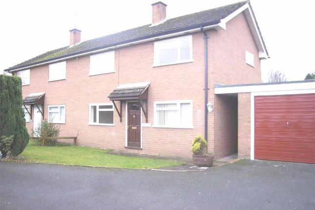 Thumbnail Semi-detached house to rent in Glenmoor, St Martins Road, Gobowen, Oswestry, Shropshire
