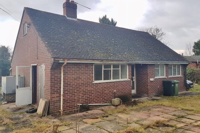 Thumbnail Detached bungalow for sale in The Bungalow, Holberrow Green, Redditch, Worcestershire