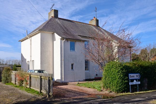 Thumbnail Semi-detached house for sale in Home Terrace, Coldstream