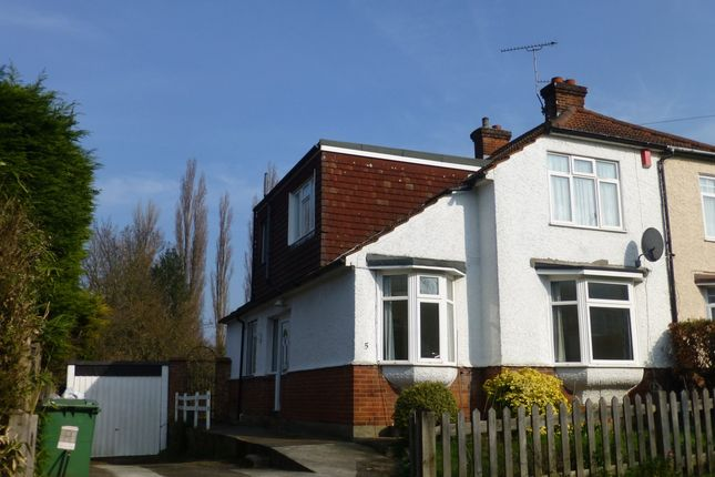 Thumbnail Semi-detached house to rent in Little Buckland Avenue, Maidstone