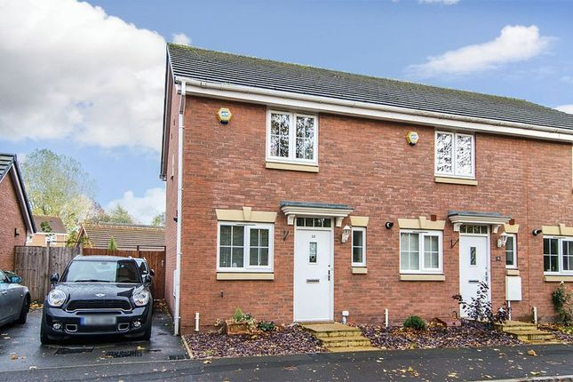 Thumbnail Semi-detached house for sale in Bramcote Way, Rushall, Walsall