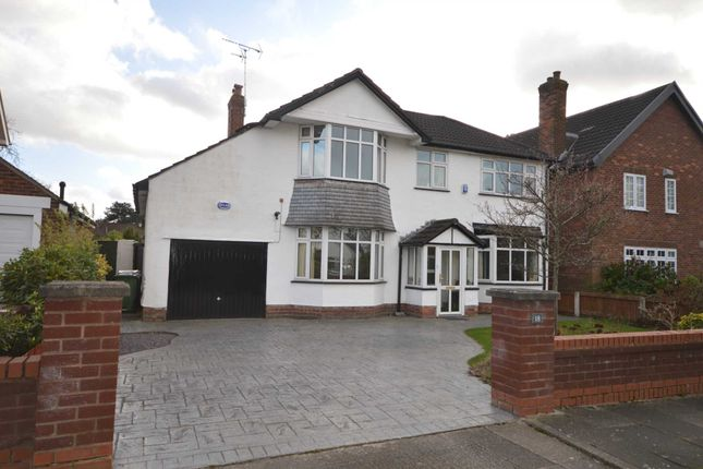 Thumbnail Detached house for sale in Brancote Gardens, Bromborough, Wirral