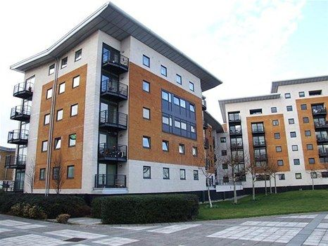 Thumbnail Flat to rent in Fishguard Way, Docklands