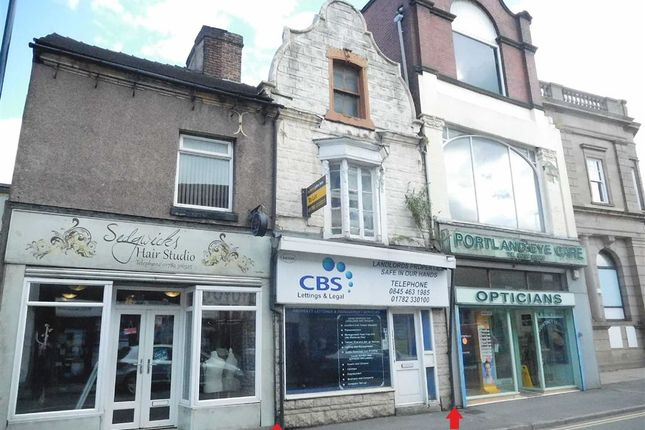 Retail premises to let in Market Street, Stoke-On-Trent, Staffordshire