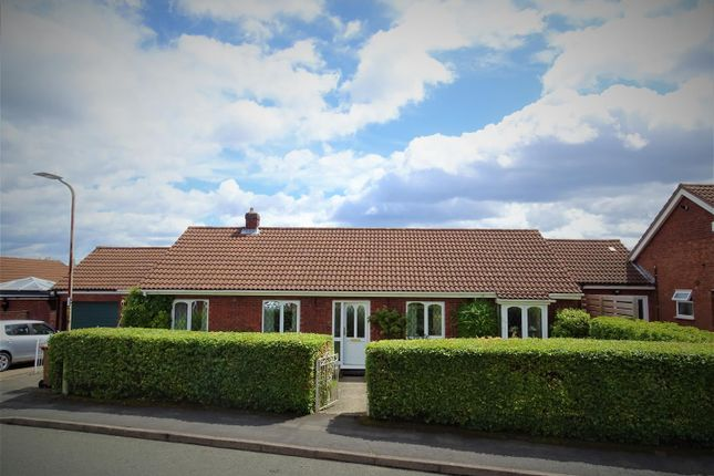 Thumbnail Detached bungalow for sale in Larchwood Avenue, Groby, Leicester