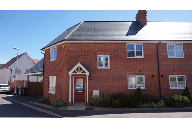Thumbnail Semi-detached house for sale in Duncombe Close, Witham