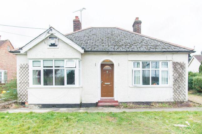 Thumbnail Detached bungalow for sale in Doddinghurst Road, Pilgrims Hatch, Brentwood
