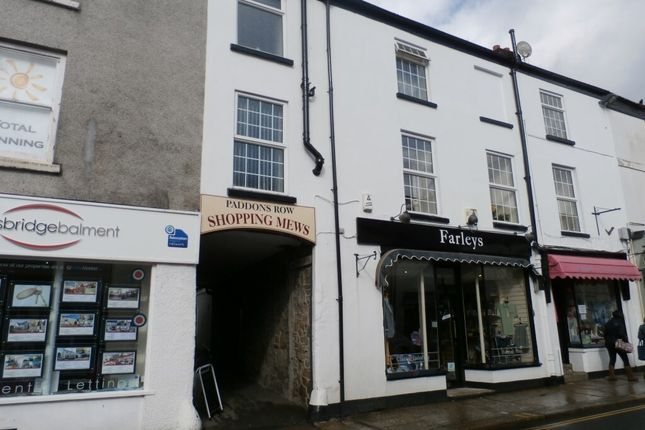 Thumbnail Flat to rent in Brook Street, Tavistock