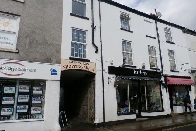 Thumbnail Flat to rent in Brook Street, Tavistock