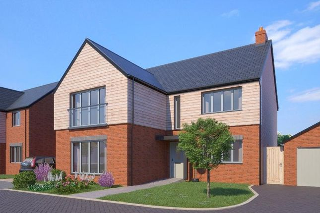 Thumbnail Detached house for sale in Greenspire, Clyst St Mary, Exeter