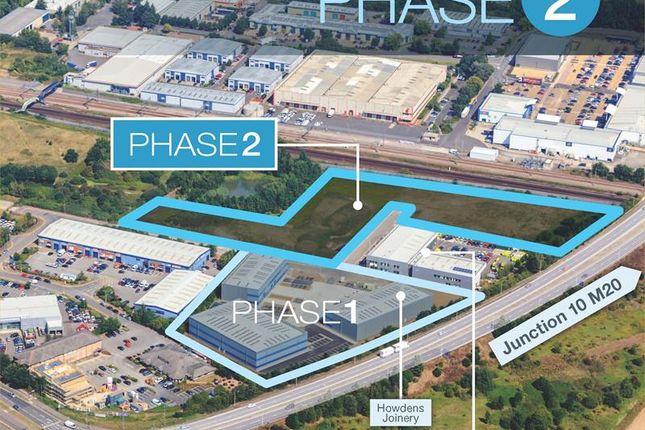 Thumbnail Land for sale in Phase 2 Axiom, Orbital Park, Ashford, Kent