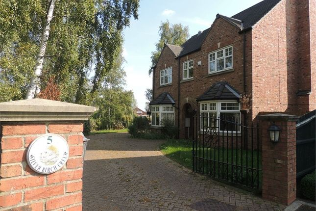 Thumbnail Detached house for sale in The Tramway, Outwell, Wisbech