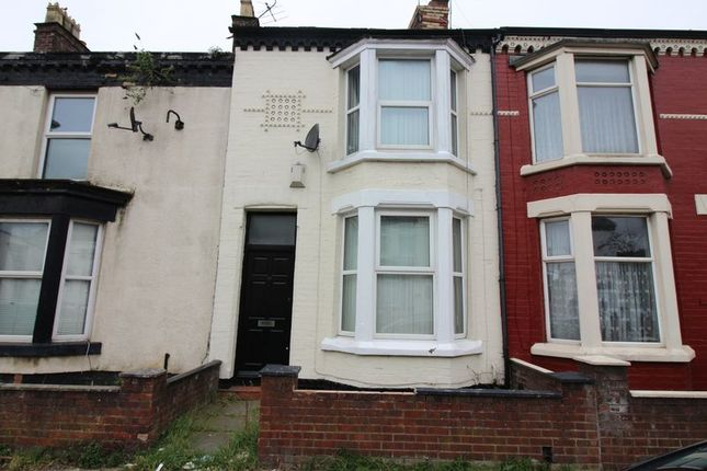Thumbnail Terraced house to rent in Miranda Road, Bootle