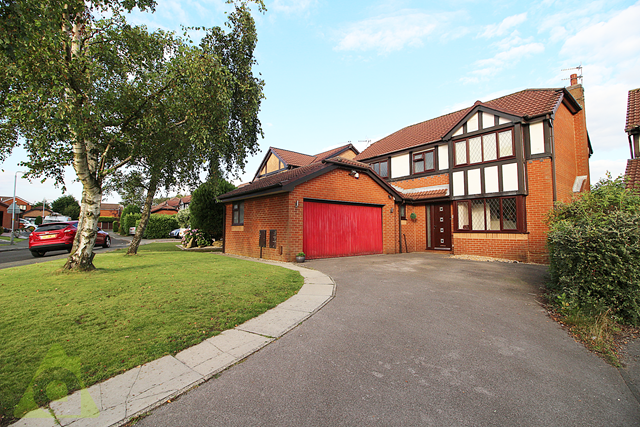 Thumbnail Detached house for sale in Cornergate, Westhoughton, Bolton