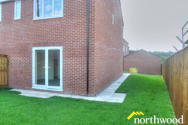 Thumbnail Semi-detached house to rent in Strothers Road, The Woodlands, High Spen, Rowlands Gill