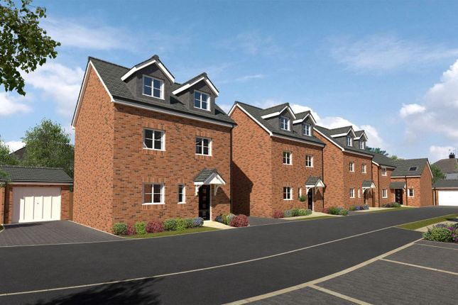 Thumbnail Detached house for sale in Anvil Gardens, Hollbrooks, Coventry
